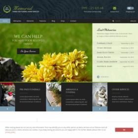AIT – Memorial WordPress Theme