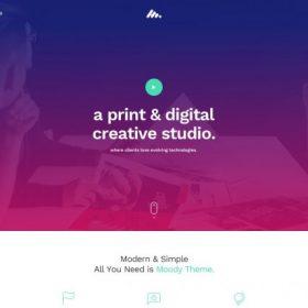 Moody – Multipurpose WordPress Theme