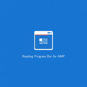 Reading Progress Bar for AMP