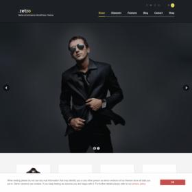AIT - Retro WordPress Theme