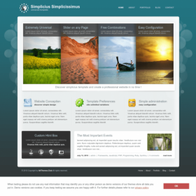 AIT - Simplicius WordPress Theme