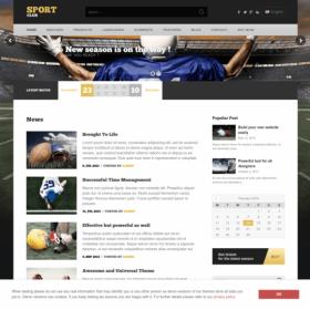 AIT - SportClub WordPress Theme