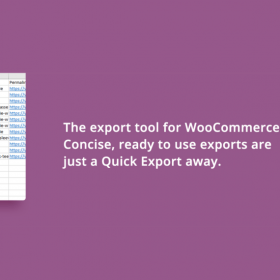 WooCommerce – Store Exporter Deluxe by Visser Labs 4.9