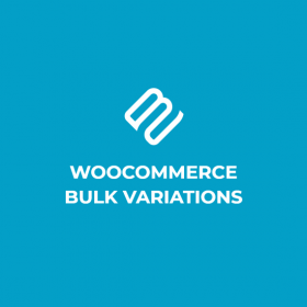 WooCommerce Bulk Variations