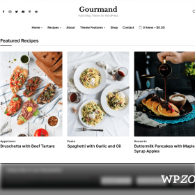 WPZoom Gourmand WordPress Theme