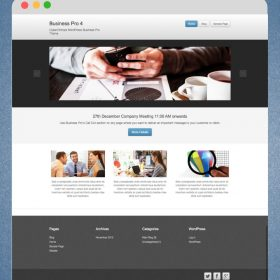 CyberChimps - Business Pro 4 WordPress Theme