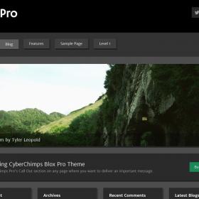 CyberChimps - Blox Pro 2 WordPress Theme