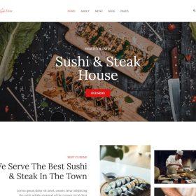 HappyThemes DinePress WordPress Theme