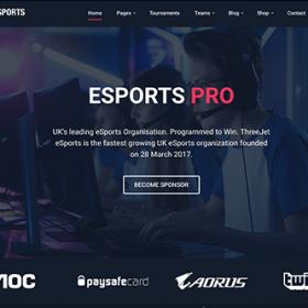 Theme Junkie eSports Pro Theme