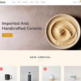 HappyThemes InStock WordPress Theme