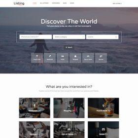 HappyThemes ListingPress WordPress Theme