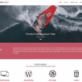 CyberChimps - Positive Vibes WordPress Theme