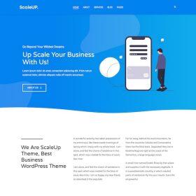 HappyThemes Scaleup WordPress Theme