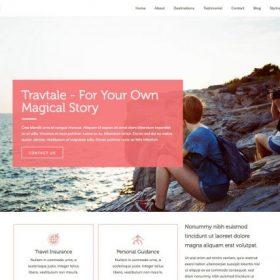 CyberChimps – TravTale WordPress Theme