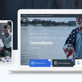 Liviza – Immigration Consulting WordPress Theme