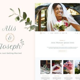Alis – Wedding Planner Theme 6
