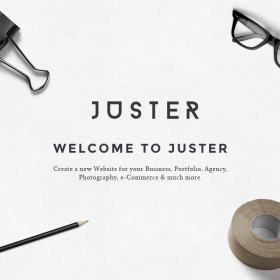 Juster – Multipurpose WordPress Theme 3.3