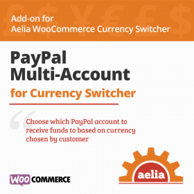 Aelia Woocommerce Paypal Standard (Multi Account)