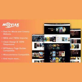 AmyMovie – Movie and Cinema WordPress Theme 3.5.1