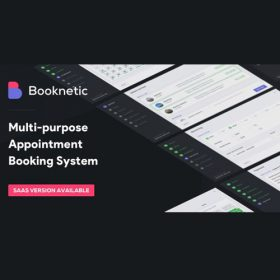 Booknetic – WordPress Appointment Booking and Scheduling system 2.3.3