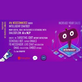 ChatBot for WooCommerce – Retargeting, Exit Intent, Abandoned Cart, Facebook Live Chat – WoowBot 12.3.9
