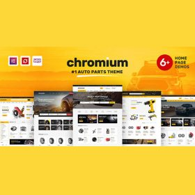 Chromium – Auto Parts Shop WordPress WooCommerce Theme 1.3.17