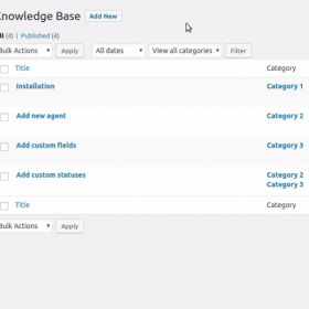 SupportCandy Knowledgebase Integration