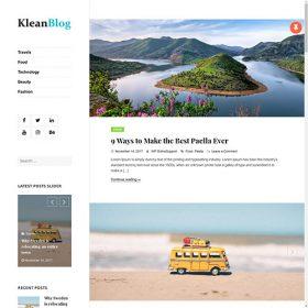 WP OnlineSupport – Klean Blog Pro