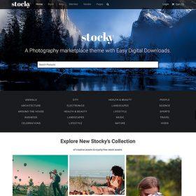 Stocky – A Stock Photography Marketplace Theme 2.0.0