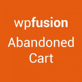 WP Fusion – Abandoned Cart Tracking 1.7.0