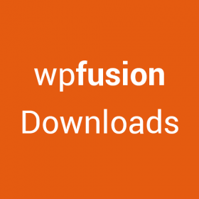 WP Fusion – Downloads 1.2.2