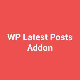 WP Latest Posts Addon