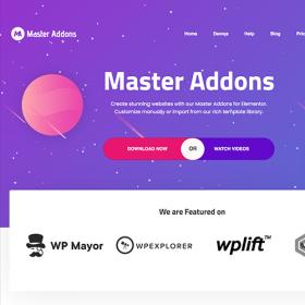 Master Addons for Elementor 1.6.0