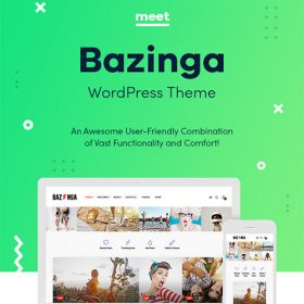 Bazinga | Modern Magazine & Viral Blog WordPress Theme 1.1.2