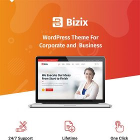 Bizix – Corporate and Business WordPress Theme 1.1.7