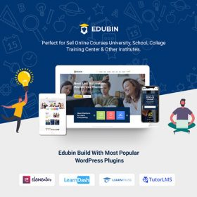 Edubin – Education WordPress Theme 6.9.14