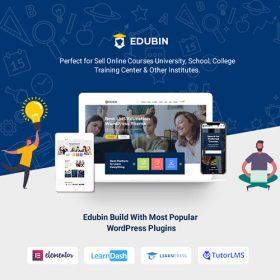 Edubin – Education WordPress Theme 8.11.6