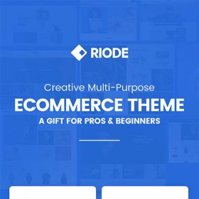 Riode Multi-Purpose WooCommerce Theme 1.0.4