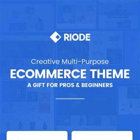 Riode Multi-Purpose WooCommerce Theme 1.3.4