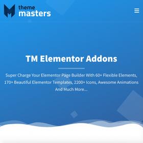 TM Elementor Addons 3.0.0